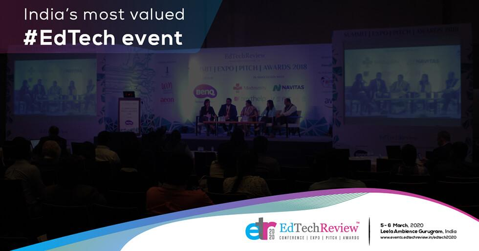 Join India's Biggest EdTech Event – EdTechReview Conference, Expo, Pitch & Awards, 5-6 Mar 2020