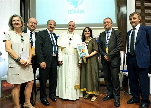 Monica-DFC-Spain-Br-Juan-The-Pope-Kiran-Vatican-Officials-500