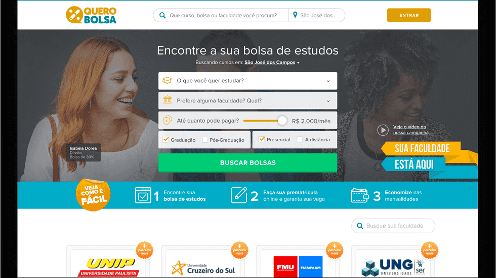 Seizing the Opportunity, This Brazilian Edtech Company Facilitates Access to Private Education Through a Marketplace