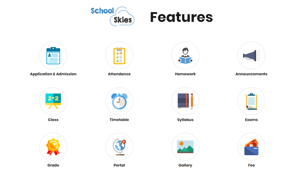 All What You Need for Daily School Management! Digitize and Upgrade Your School