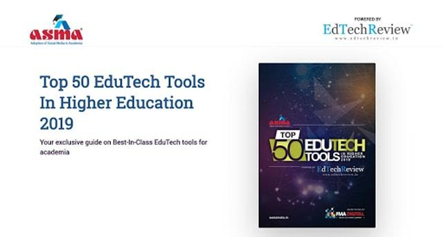 Top 50 Edutech Tools in Higher Education Report