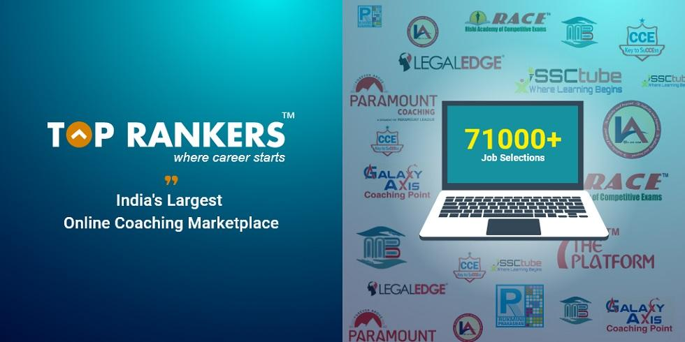 Toprankers: India's Fastest Growing Online Coaching Marketplace