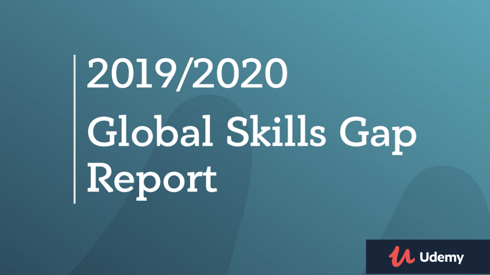 Udemy Launches Global Skills Gap Report
