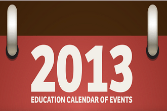 2013 Education Calendar of Events - HigherEd, K-12, EdTech, and Professional Development