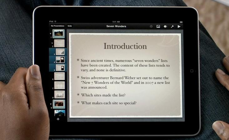 Webinar: Create Awesome Presentations on iPad