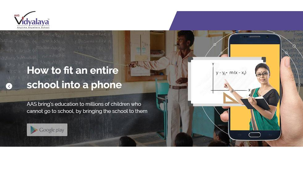 Anytime Anywhere School (AAS) - A Virtual School Startup to Bring School to Students