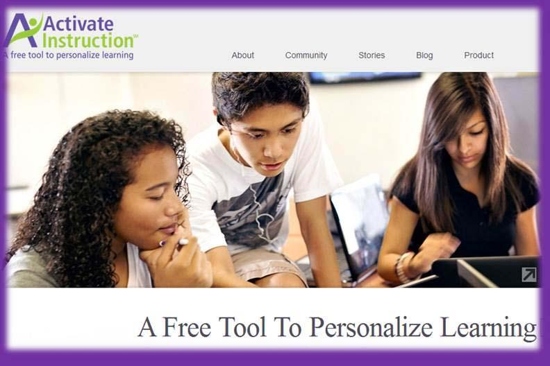 Activate Instruction: Free Online Tool to Personalize Learning