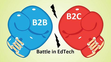 The B2B and B2C Battle in EdTech Globally