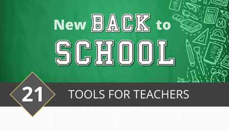 [Infographic] 21 Back to School Tools for Teachers