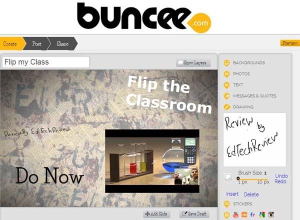 Buncee - Create Sharable Multi-Media Content