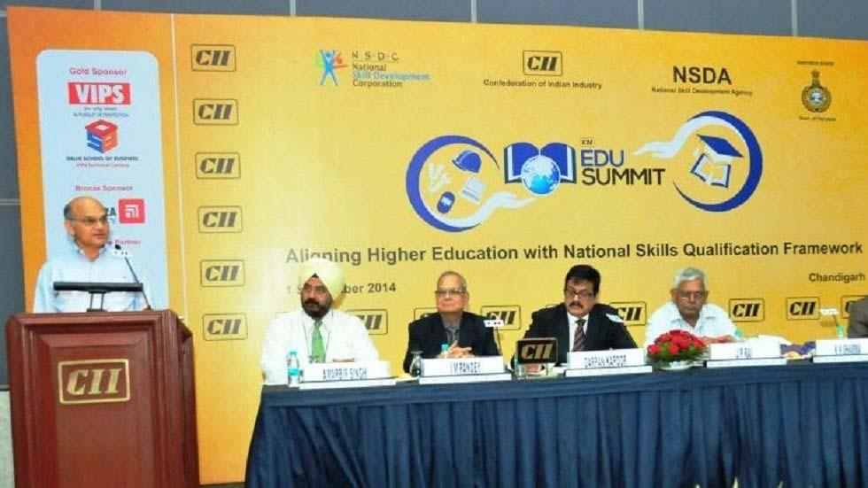 4th CII Edu Summit Aligning Higher Education with National Skills Qualification Framework (NSQF)