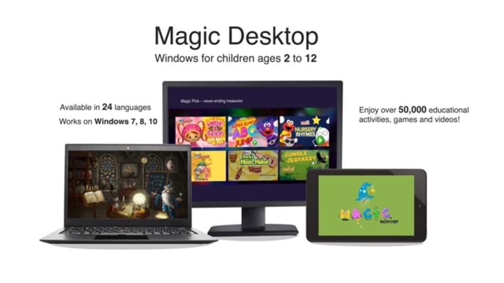 Magic Desktop 9.1 Converts Windows Into An Educational And Safe Playground For Kids