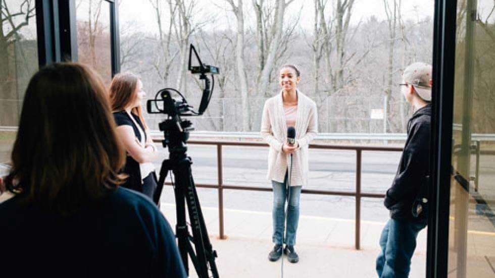 Student Driven Real-World Learning in Broadcast Journalism
