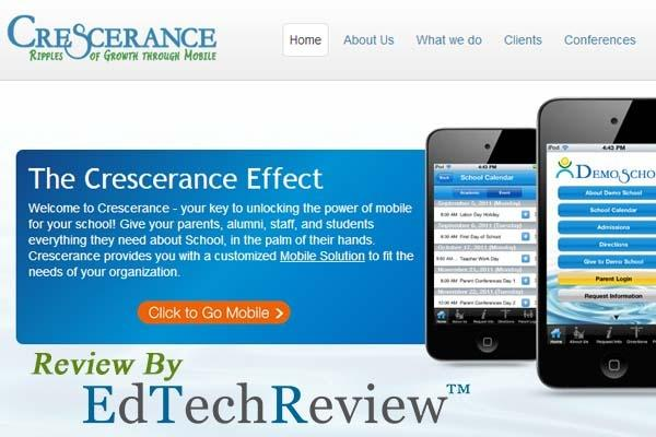 Crescerance - Mobile Apps for School