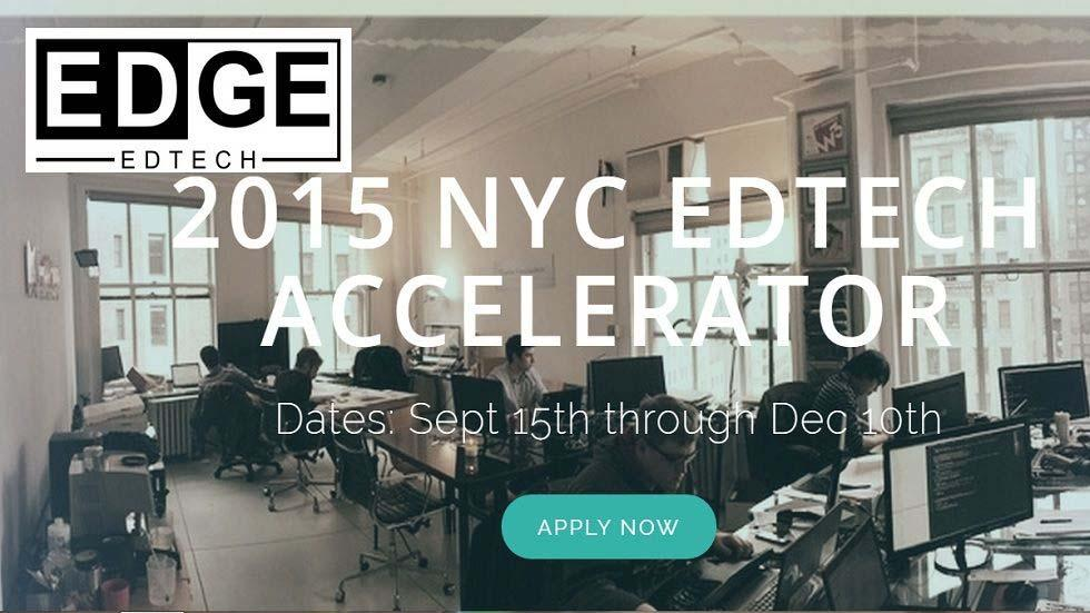 EDGE Edtech® Accelerator in New York City for EdTech Start-Ups