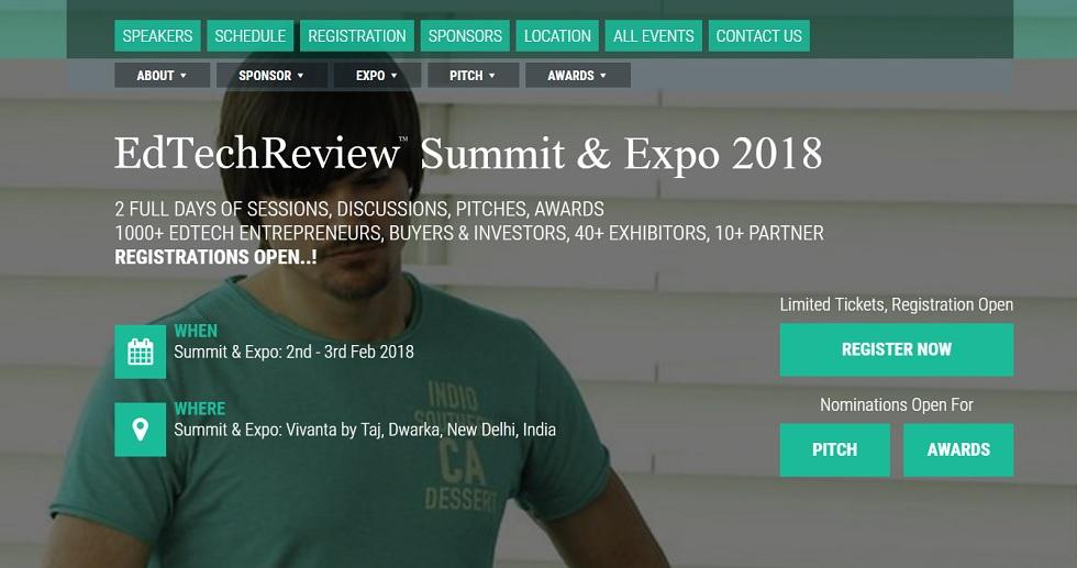 EdTechReview Summit & Expo 2018: India's Biggest Gathering in EdTech