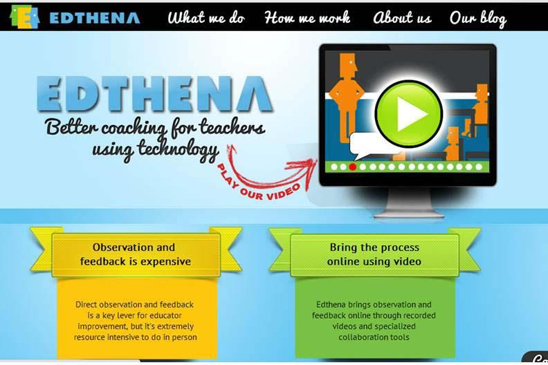 Edthena - Better Coaching for Teachers Using Technology
