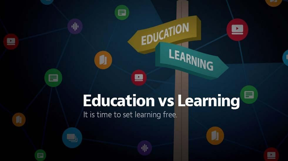 Education vs Learning - What Exactly is the Difference?