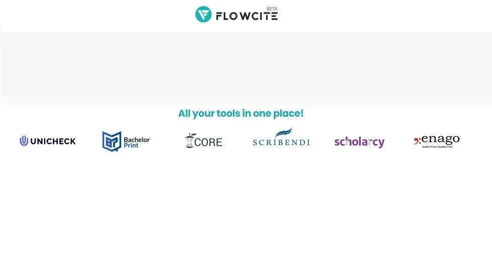 Flowcite Has Teamed Up With CORE, Largest Aggregator Of Open Access Research Papers