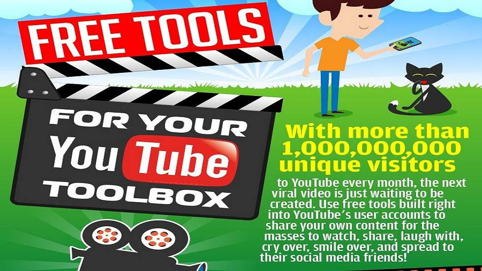 [Infographic] Free & Useful YouTube Tools