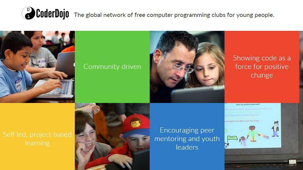 Global Network of Free Computer Programming Clubs for Young People