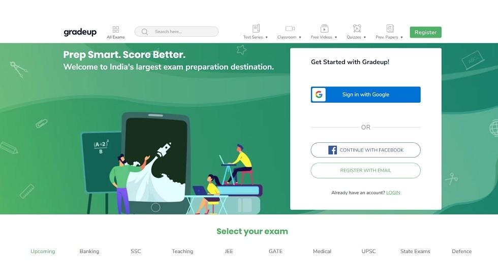 Noida-based Gradeup Raises $7 Million to Expand its Online Exam Preparation Platform