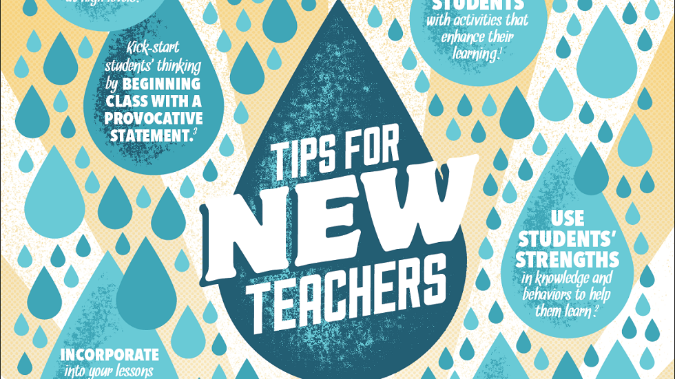 [Infographic] New to Teaching? You Must Know These Tips