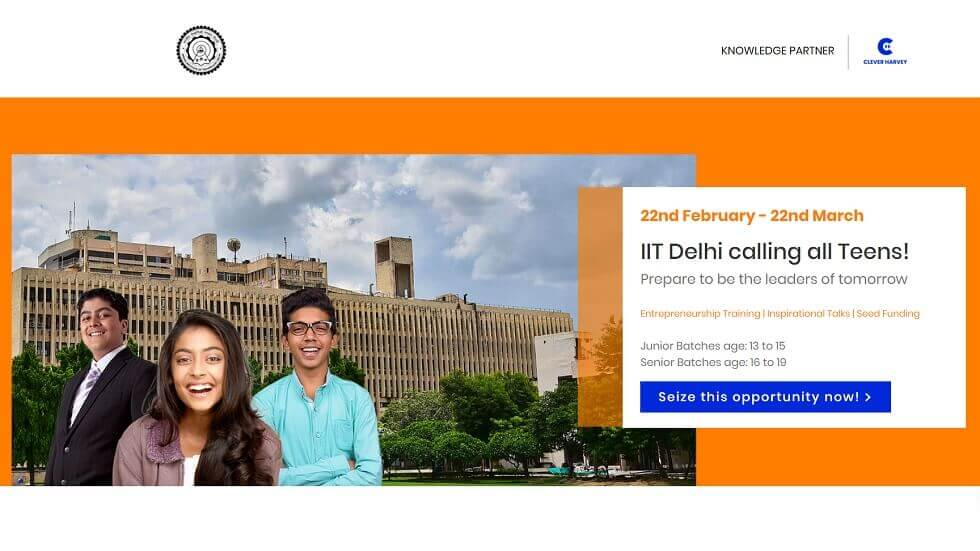 IIT Delhi, DMS Launches Entrepreneurship Competition For School Students