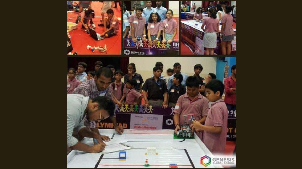 Indian Robot Olympiad 2014 Hosted by Genesis Global School