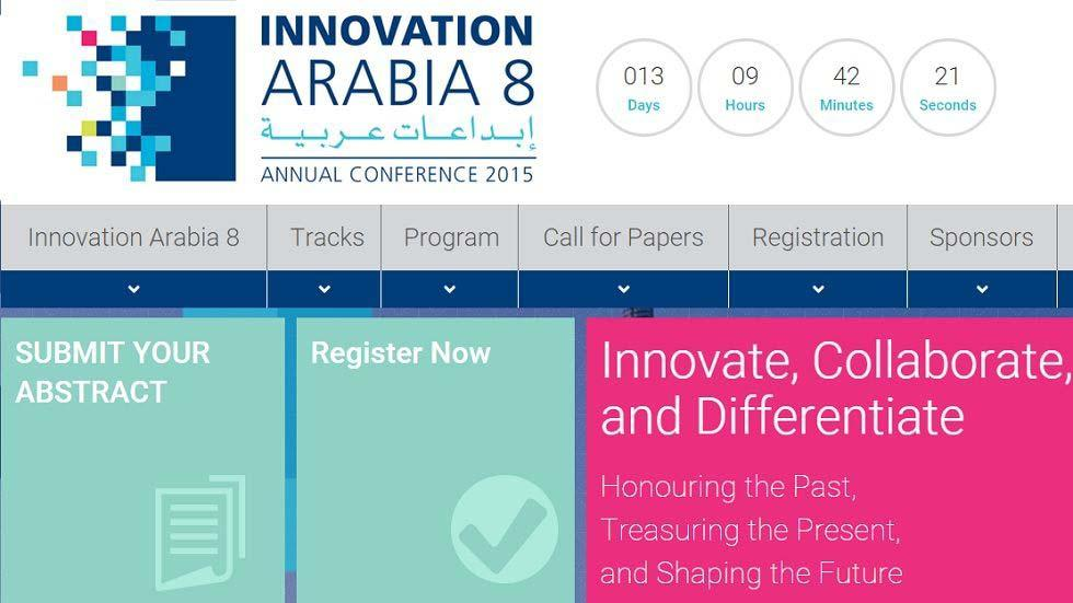 Innovation Arabia 8 Program Now Available Online