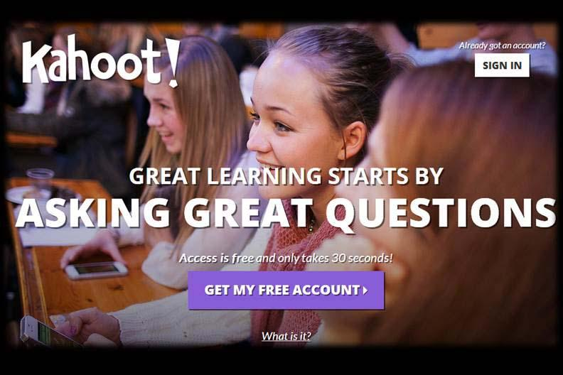 Kahoot- Game-Based, Classroom Engagement Tool for Schools and Universities