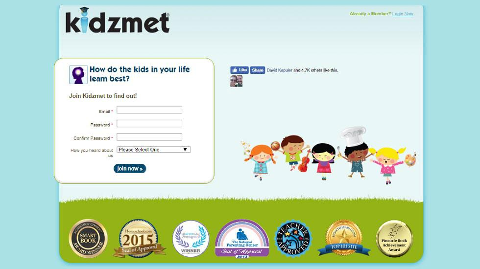 Kidzmet - Discover The Way Your Students Will Enjoy Learning