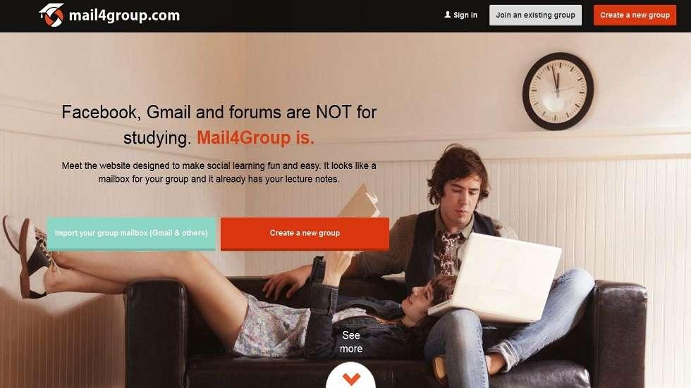 Mail4Group.Com: Social Learning Made Fun and Easy by this Startup from Europe