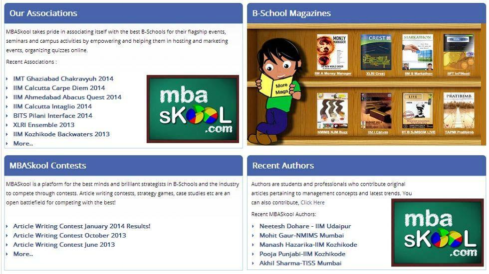 Online Knowledge Portal for MBA Students and Business Professionals