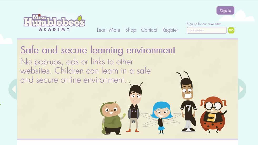 Miss Humblebee's Academy: An Online Kindergarten Preparatory Program