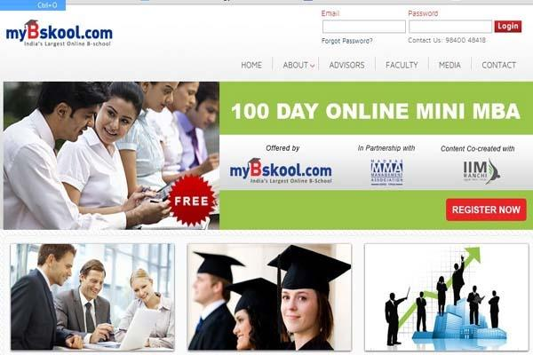 myBskool: India's Largest Online B-School