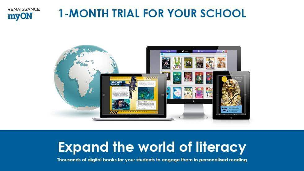 Renaissance Learning Offers 1-Month Free Trial of its Digital Library 'myON Reader' to All Indian Schools