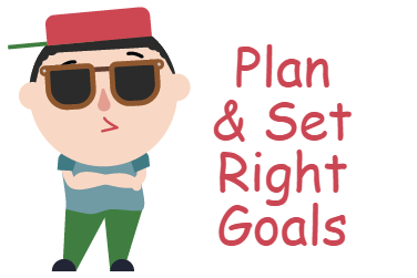 planning and setting goals