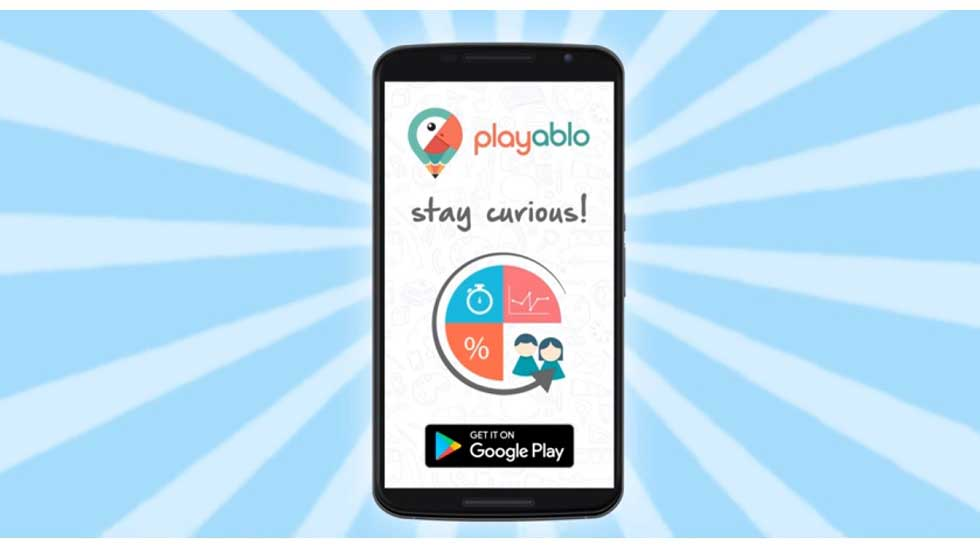 Kids Have Fun with the Gamified Learning App 'Playablo at Home'