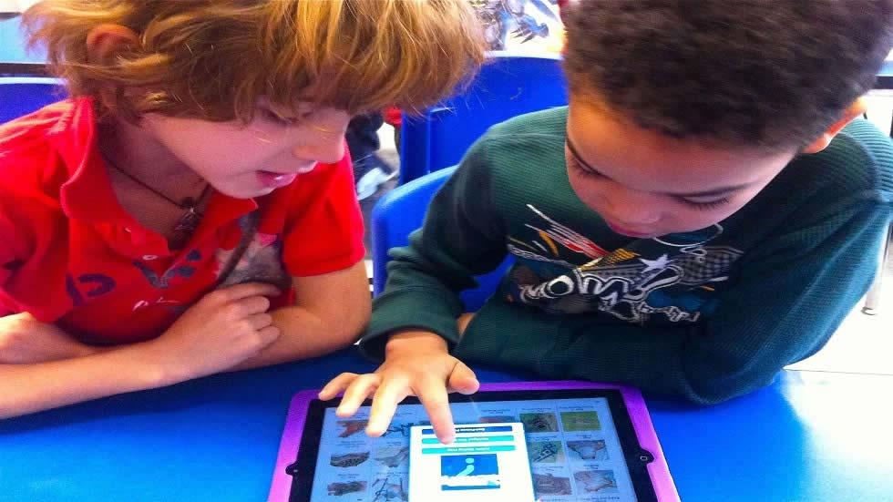 Improving Reading and Writing Using iPads