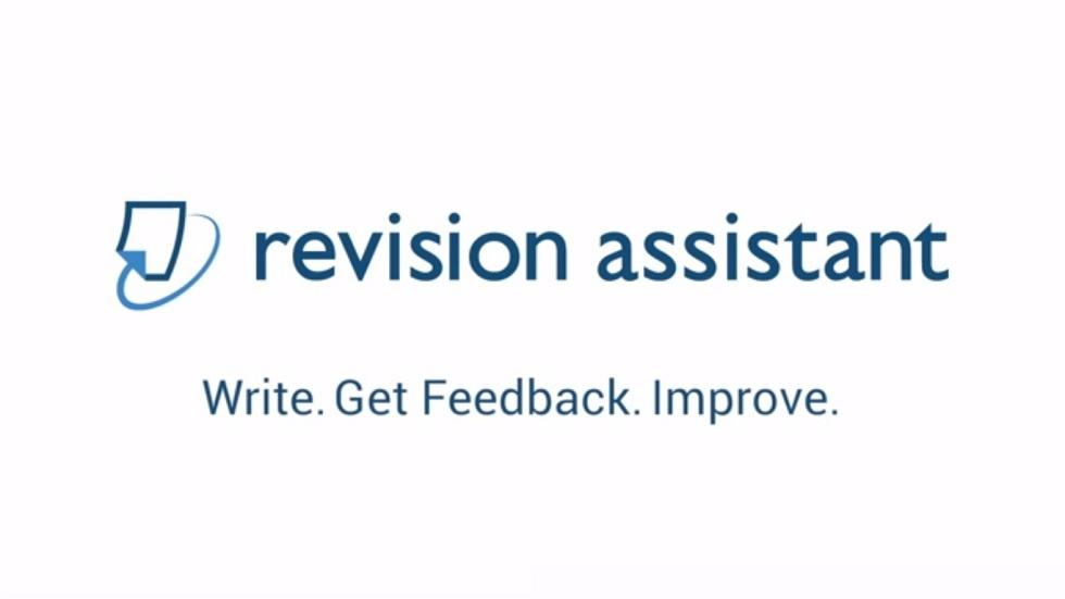 Revision Assistant : A New Writing Tool For Students In Higher Education