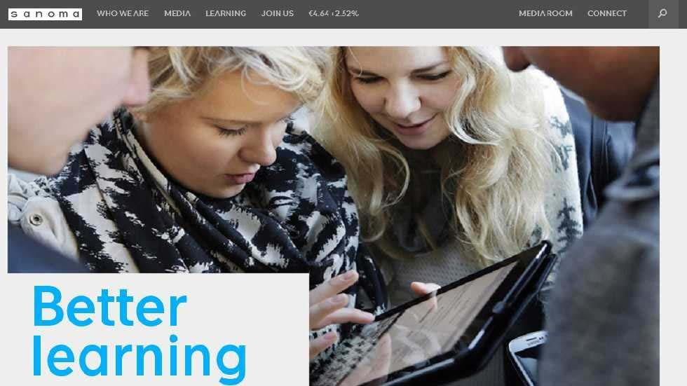 Sanoma and Knewton to Bring Adaptive Learning Solutions to K-12 Classrooms Across Europe