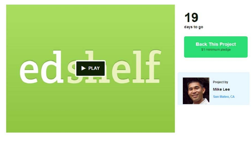 Edshelf Needs your Help to Keep it Going - Please Spread the Word!