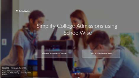Artificial Intelligence & Machine Learning Tool to Help with College Admissions in the United States
