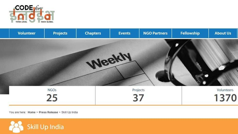 """""""Skill Up India"""" Free Online Education Portal Launched By Code For India Organization"""