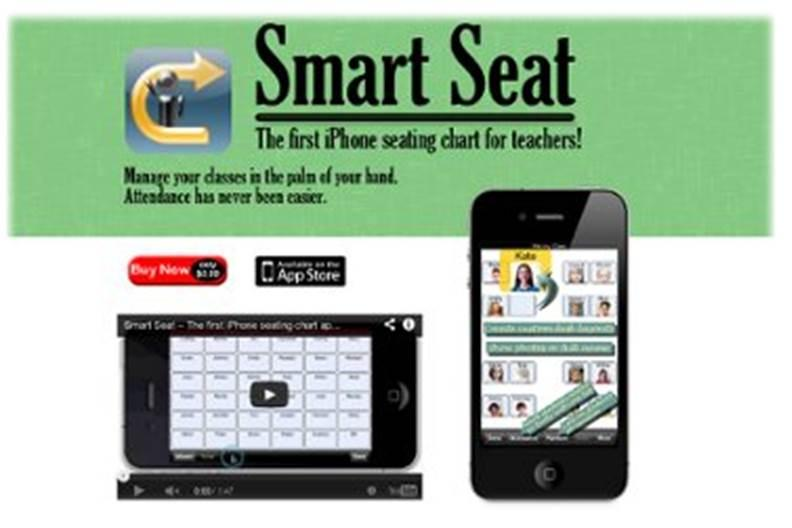 Smart Seat - The First iPad/iPhone Seating Chart App for Teachers