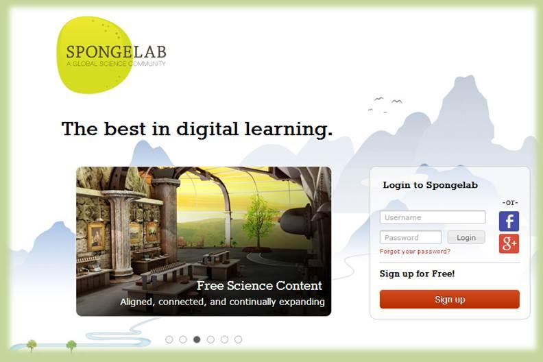 SpongeLab: Great Online Learning Platform for Science Lovers