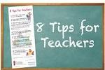 tips for teachers and educators