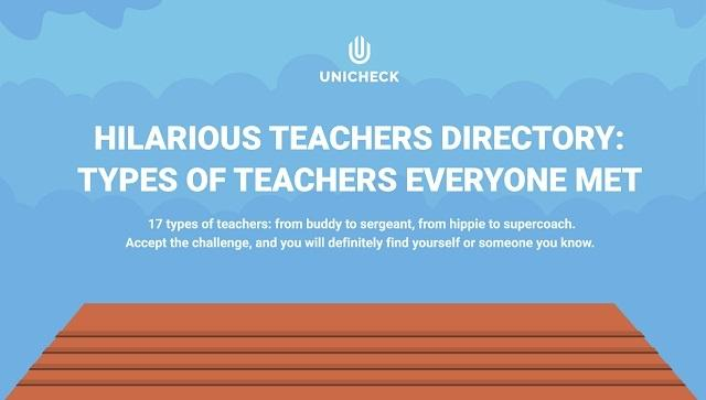 17 Different Types Of Teachers We Know