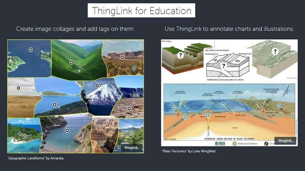 Engage, Entertain and Educate Using ThingLink